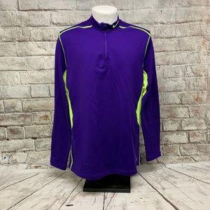 Nike Mens Hyperwarm Dri Fit Pro Combat Pullover XL